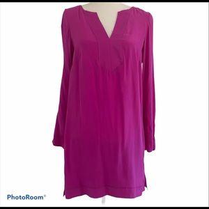 Alice & Trixie fuscia pink tunic shift dress. Sz S